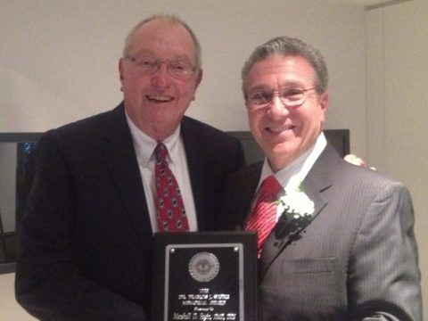 Dr. Marshall Fagin Receives Coveted Frank Stone Award